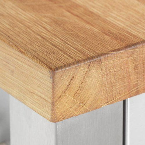 Encimeras de madera maciza nuevos rincones del showroom - Encimera madera maciza ...